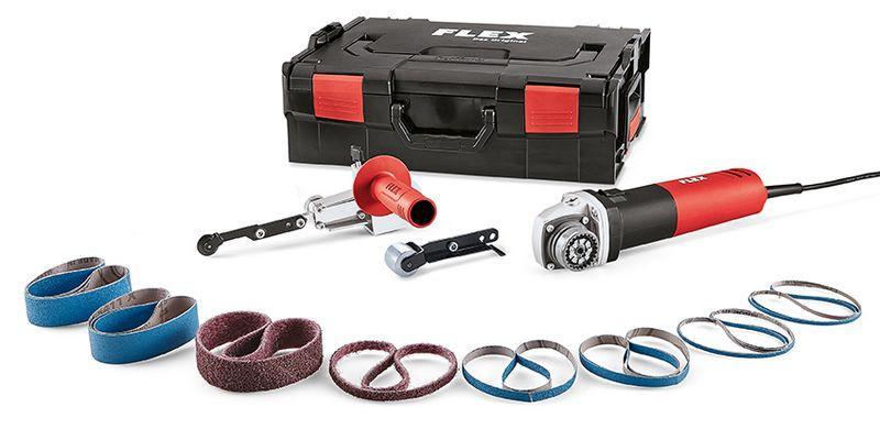 Pásový pilník TRINOXFLEX FBE 8-4 140 L-BOXX