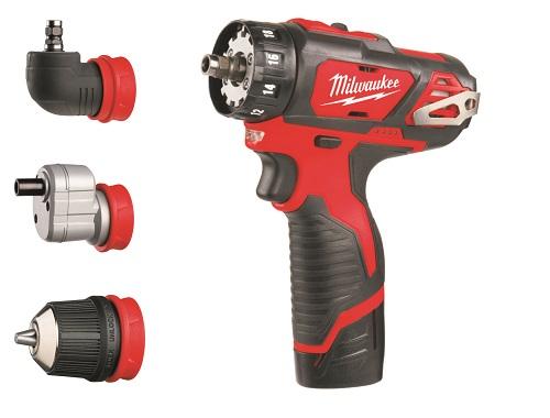 M12 BDDX-202C M12™ kompaktný vŕtací skrutkovač s vymeniteľným skľúčidlom