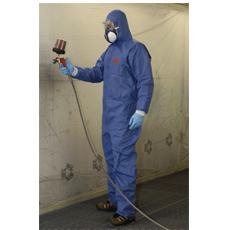 4530 Ochranný odev typ 5/6, modrá s bielou, XL