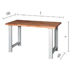 Pracovný stôl KOMBI
