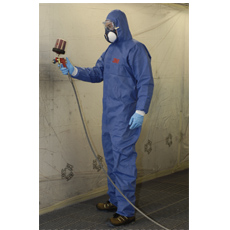 4530 FsR COVERALL TYPE 5/6, BLUE+WHITE XXL