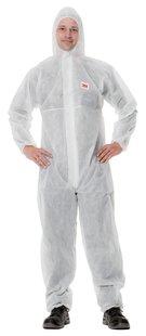 4500 Ochranný jednorázový odev SIMPLE, biely, M