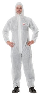 4500 COVERALL CE SIMPLE, WHITE XXL