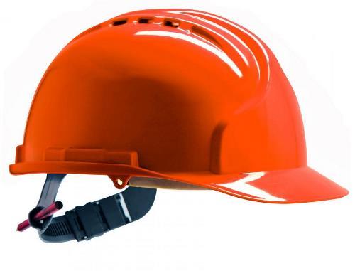 JSP MK7 prilba ventilovaná oranžová