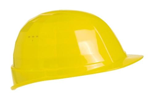 LAS S17 prilba, plast 6b žltá