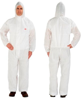 4515 COVERALL TYPE 5/6, WHITE L
