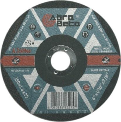 Kotúč brúsny 150-6,5 A30P-Inox
