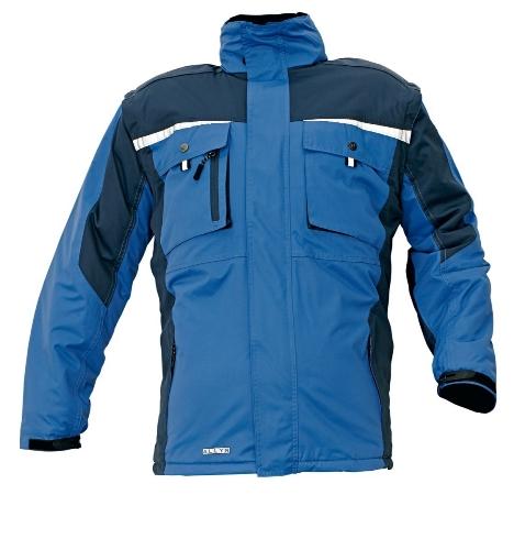 ALLYN zimná bunda modrá XL