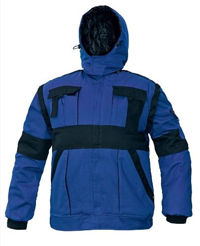 MAX WINTER bunda 260 g modrá/čierna 54