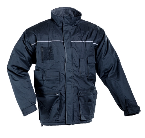 LIBRA zimná bunda sivá XL