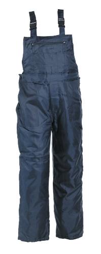 TITAN nohavice s náprs. zatepl modré XL