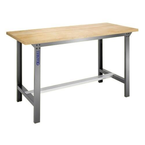 Dielenský stôl s drevenou pracovnou doskou 1,5 m
