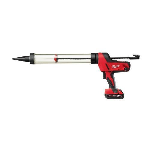 M18™ dávkovacia pištoľ s 600 ml priehľadným púzdrom C18 PCG/600T-201B