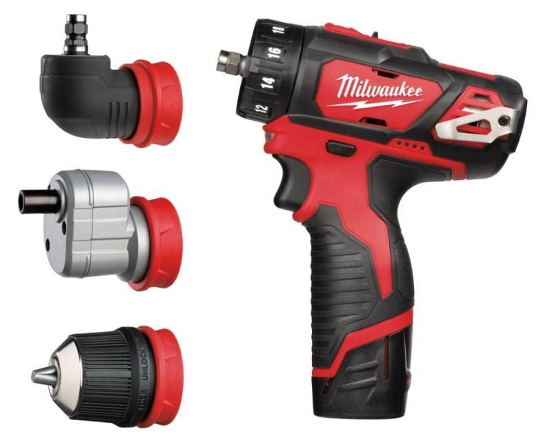 M12 BDDX SET-202X M12™ kompaktný vŕtací skrutkovač s vymeniteľným skľúčidlom - set