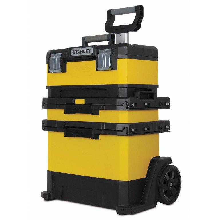 Kovoplastový pojazdný montážny box