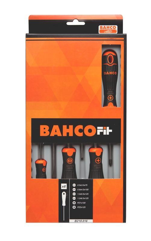 Sada skrutkovačov BahcoFit, 6 ks B219.016