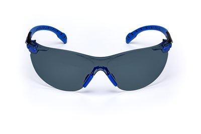 Sivé ochranné okuliare SOLUS S1102SGAF-EU