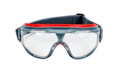 Číre uzavreté ochranné okuliare s povrchom Scotchgard GG501SGAF-EU