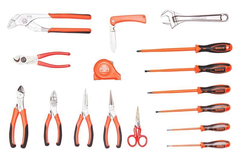 e18845557f271 Náradie pre elektrikárov v koženej taške 982000170 - BAHCO | Centrum ...