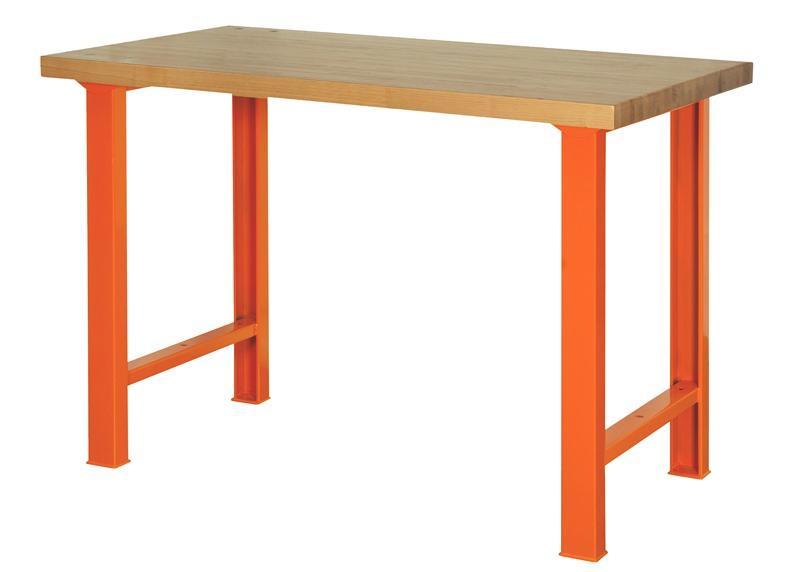 Pracovný stôl s pracovnou doskou z dreva 1495WB15TW