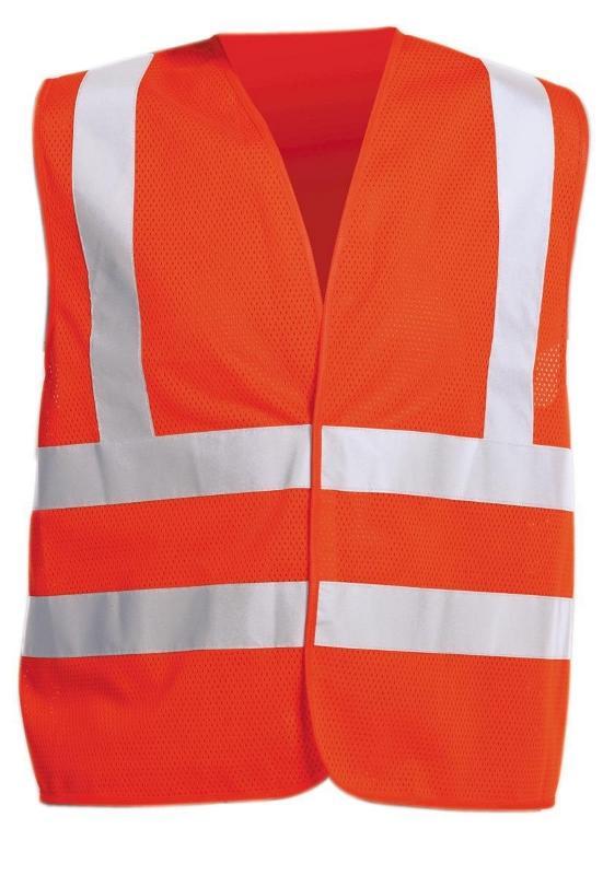 QUOLL vesta reflexná oranžová XL