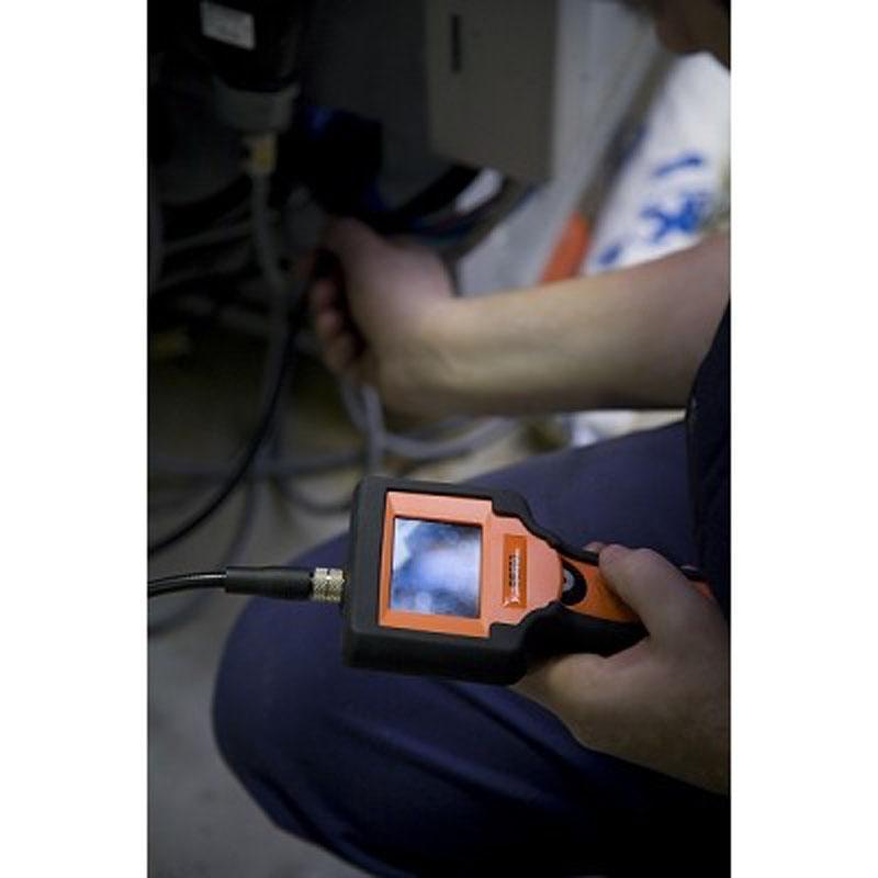 Videoskop BE200 s príslušenstvom v plastovom kufri
