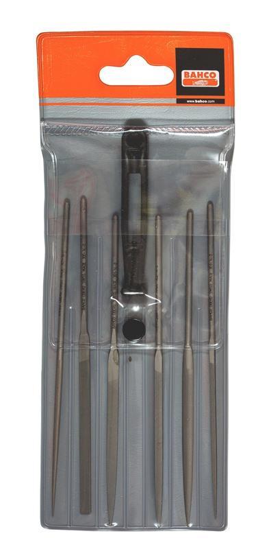 Sada ihlových pilníkov, 6 ks, 2-470-14-0-0