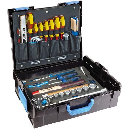 1100-01 SADA NÁSTROJOV HANDWERKER v kufri L-BOXX® 136, 58 dielná