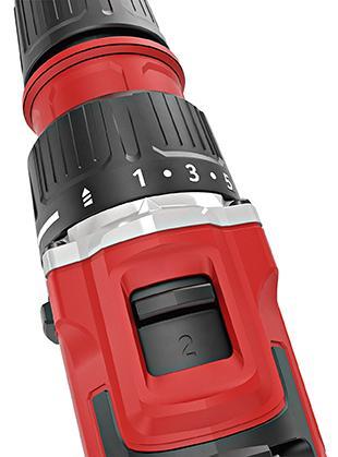 Akumulátorový vŕtací skrutkovač 2-rýchlostný DD 2G 10.8-EC