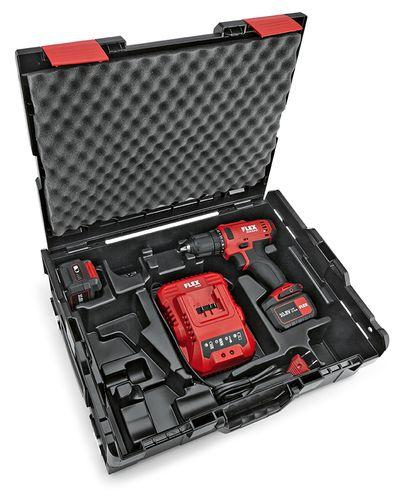 Akumulátorový vŕtací skrutkovač 2-rýchlostný DD 2G 10.8-LD