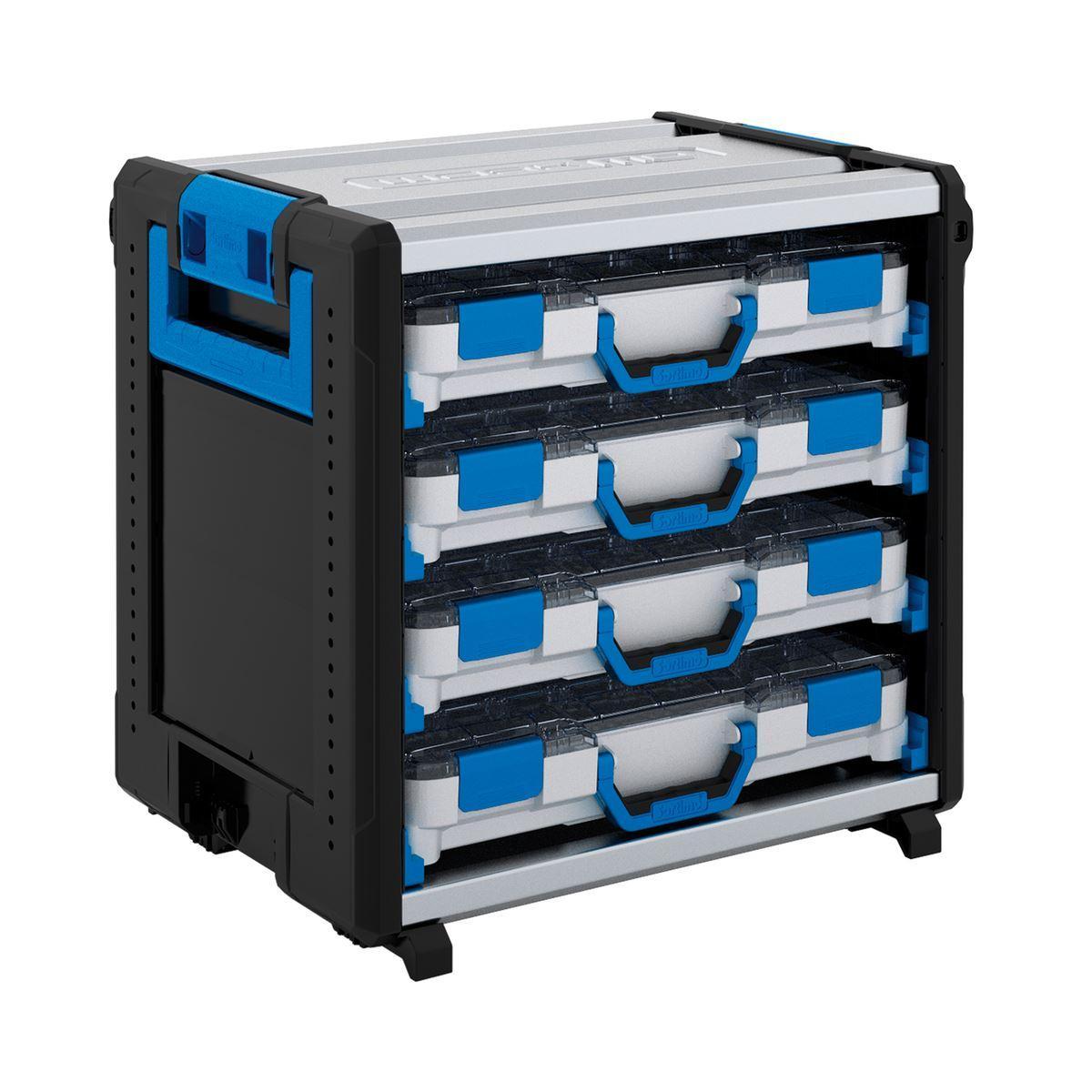 WO 24-500 STB 4TB H - WokMo modul s koľajnicami a BOXXami