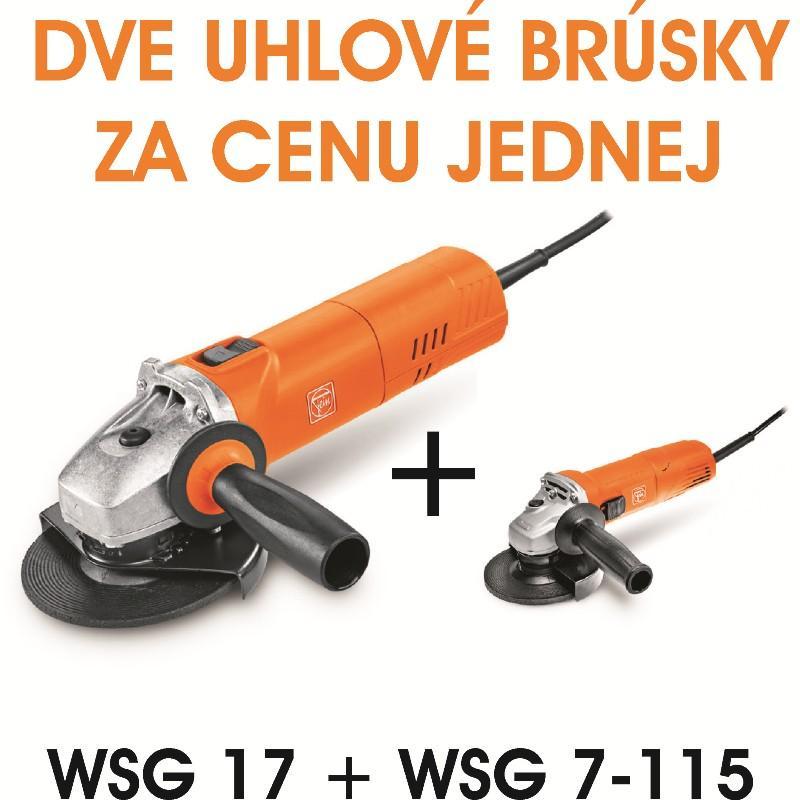 Uhlová brúska WSG 17-70 Inox