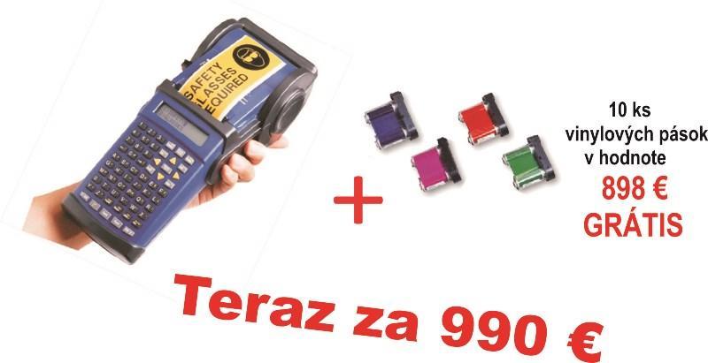 Prenosná tlačiareň HANDY MARK + vynilové pásky