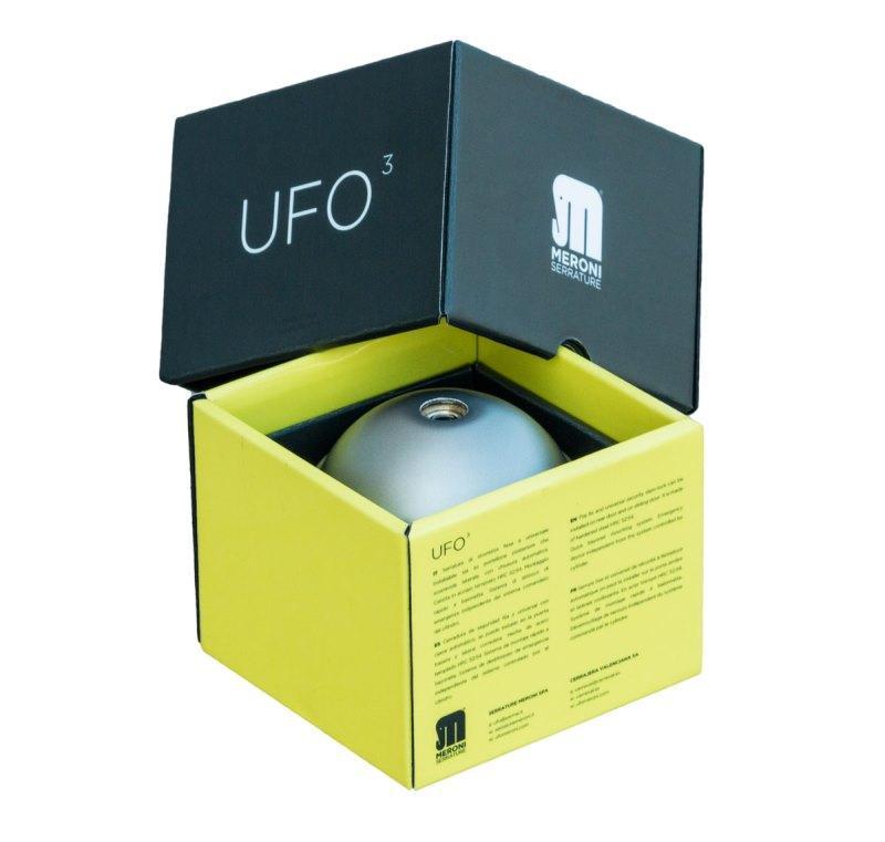 Zámok UFO3 Dodatočné uzamykanie vozidla UFO3 SMART DUO Strieborné