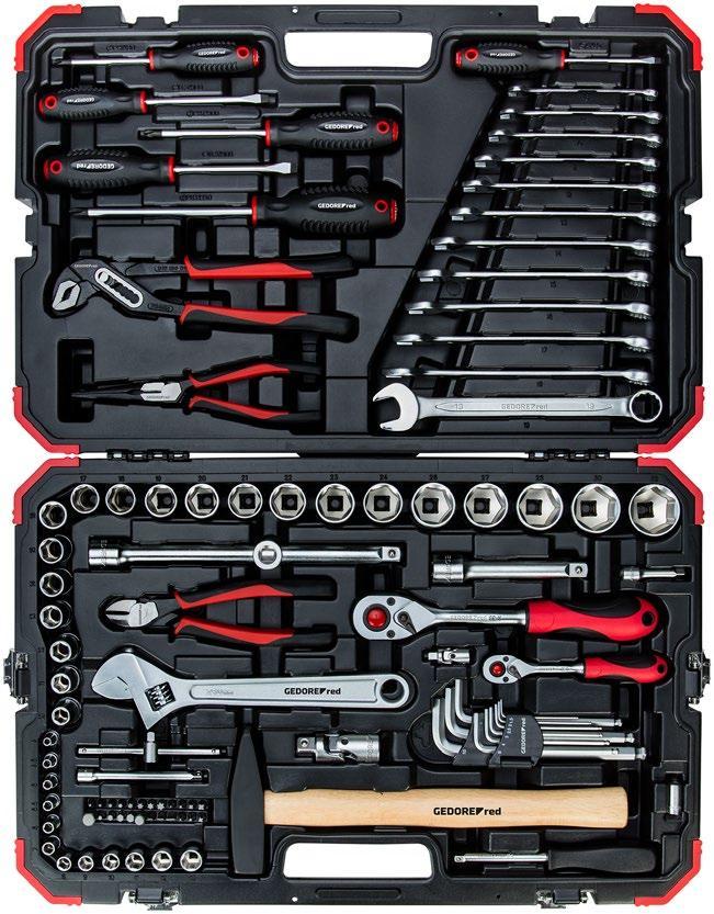 """Sada nástrčných kľúčov 1/4""""+1/2""""  100 dielna R46003100"""