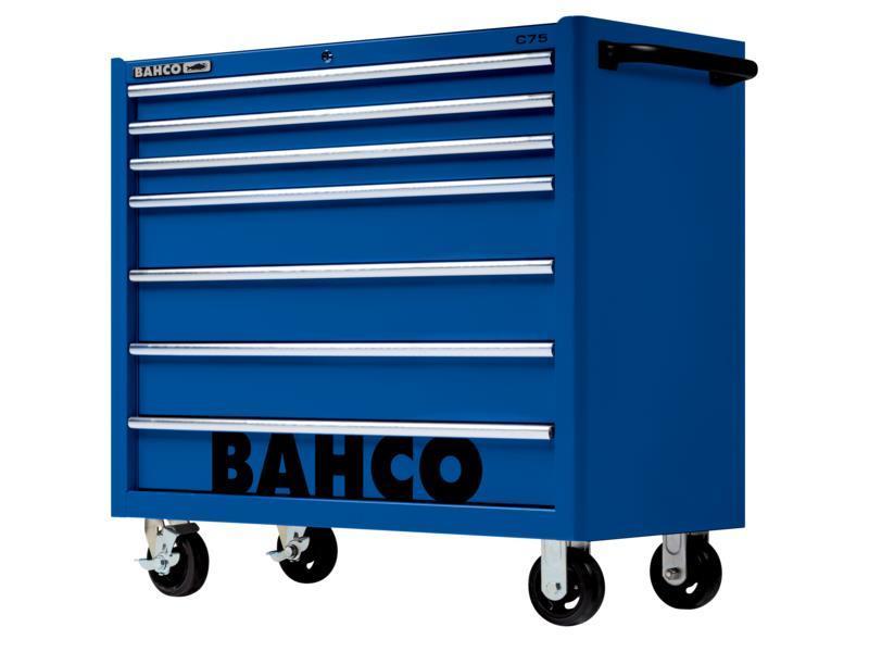 """Classic Mobilný vozík na náradie 40"""" so 7-zásuvkami, modrý 1475KXL7BLUE"""