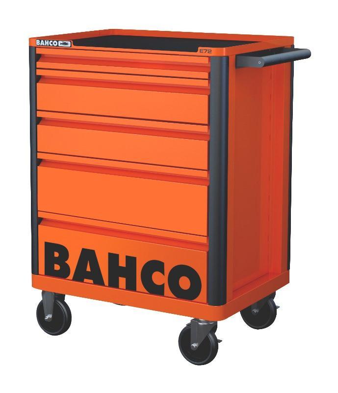 Vozík na náradie Campaign s 5-zásuvkami, oranžový 1472K5