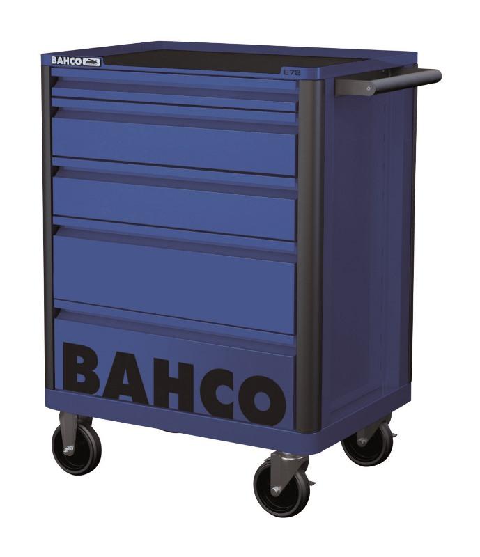 Vozík na náradie Campaign s 5-zásuvkami, modrý 1472K5BLUE