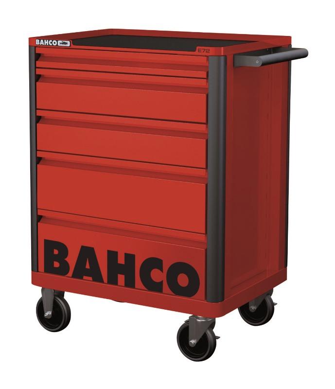 Campaign Mobilný vozík na náradie s 5-zásuvkami, červený 1472K5RED
