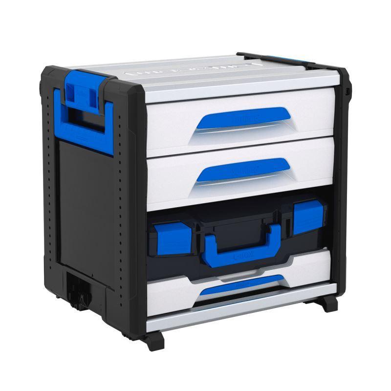 SET WO 24-500 MS1 - WorkMo modul s 2 zásuvkami a L-Boxxom