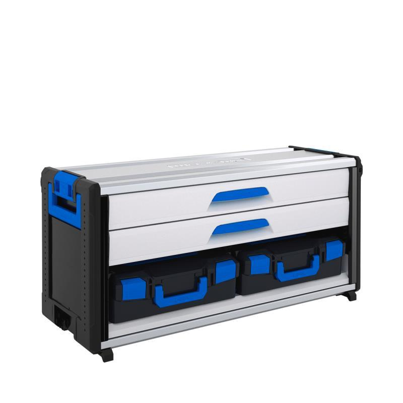 WO 44-500 LB1 - WorkMo Modul s 2 zásuvkami a 2 L-BOXX kufríkmi
