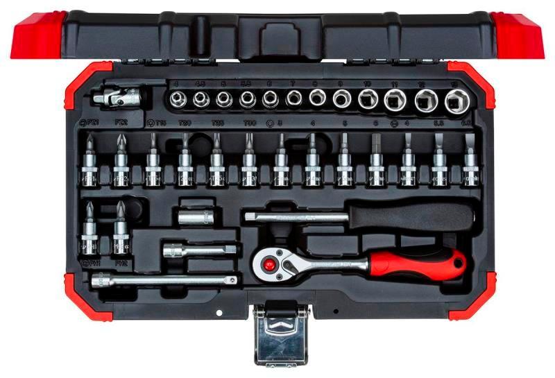 """Sada nástrčných kľúčov 1/4"""", 32 dielna R49003033"""