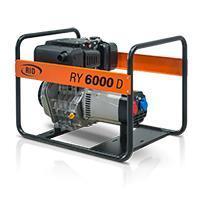 Elektrocentrála  RY 6000 DE