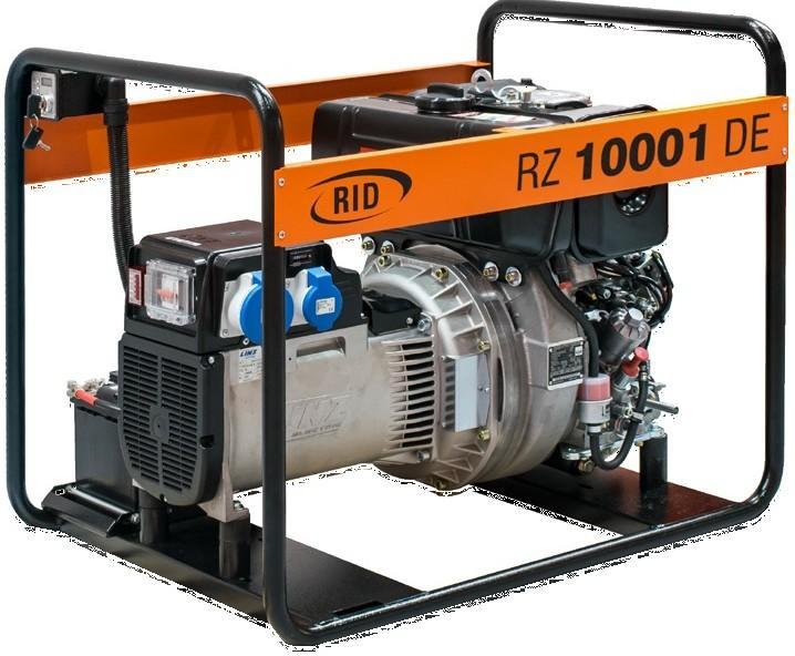Elektrocentrála  RZ 10000 DE