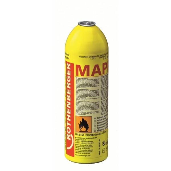 Plynová náplň MAPP-Gas