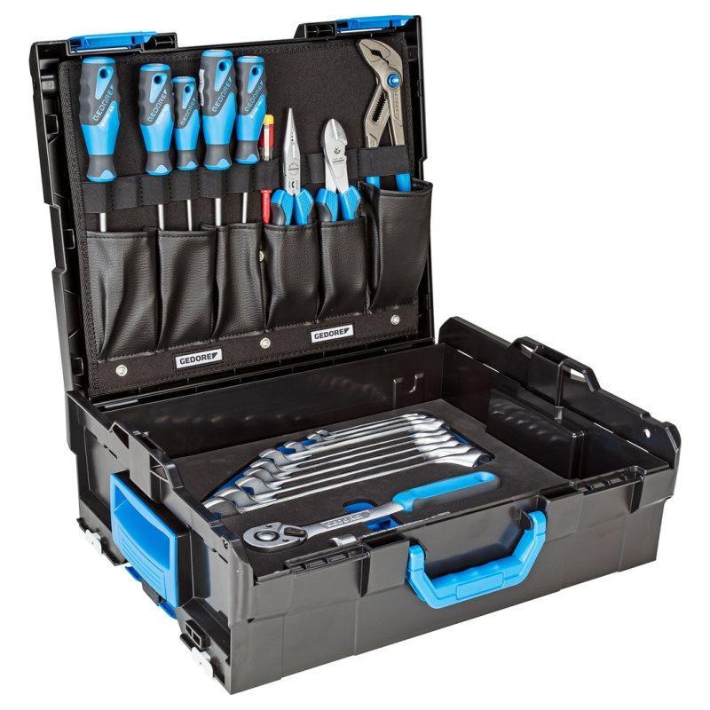 1100-004 SORTIMENT NÁSTROJOV STARTER v kufri L-BOXX® 136, 30 dielná