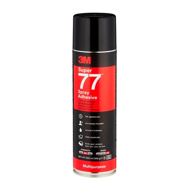 3M™ Super 77™ Viacúčelové sprejové lepidlo