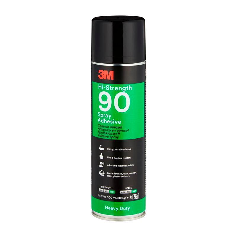 3M™ Hi-Strength 90 sprejové lepidlo pre náročné aplikácie