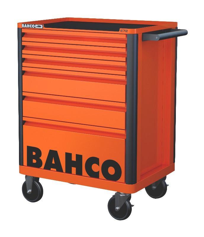 Vozík na náradie Campaign so 6-zásuvkami, oranžový 1472K6