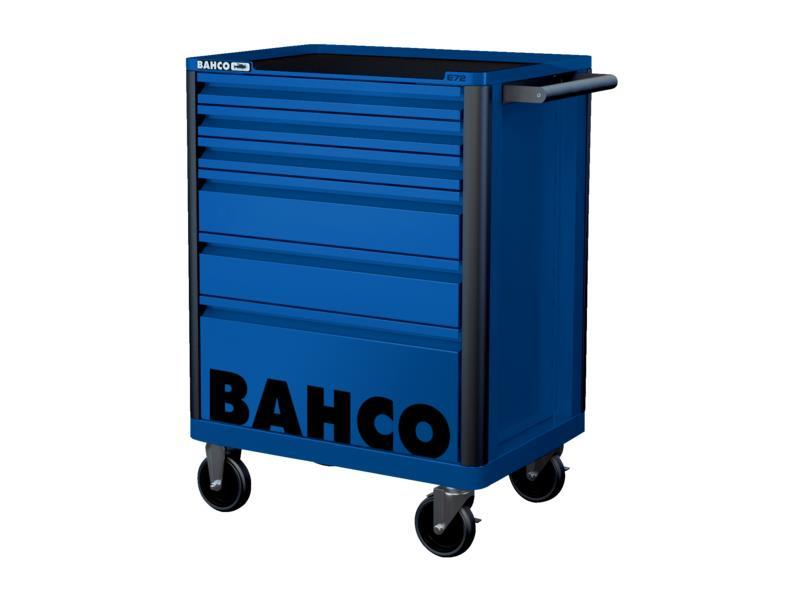 Vozík na náradie Campaign so 6-zásuvkami, modrý 1472K6BLUE